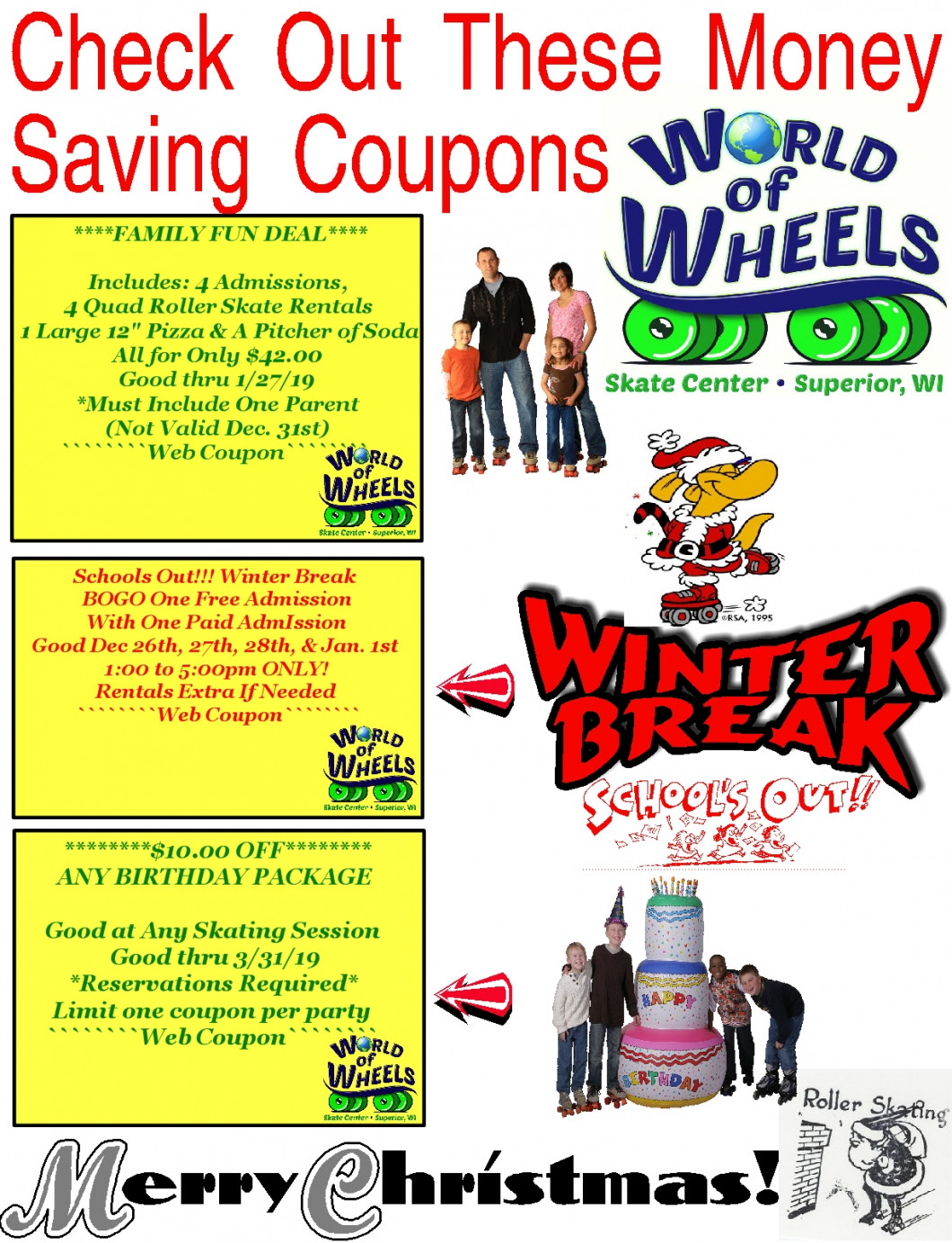 coupons world of wheels